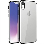 Чехол для iPhone XR Uniq Valencia Clear (серебристый)