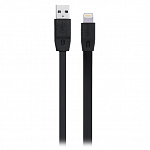 Кабель передачи данных Remax Lightning to USB Full Speed Cable Series 1м для iPhone 5\6, iPad mini, iPad Air, iPad 4 (черный)