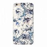 Чехол для Apple iPhone 6/6S Plus Deppa Art Case Flowers Хризантемы