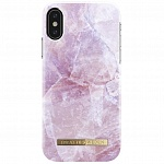 Чехол для iPhone X iDeal of Sweden Fashion Case PILION PINK MARBLE