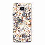 Чехол для Samsung Galaxy A3 (2016) Deppa Art Case Flowers Ромашки