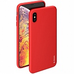 Чехол для iPhone XS Max Deppa Gel Color Case (красный)