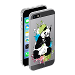 Чехол для Apple iPhone 5/5S Deppa Gel Art Animal Панда