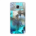 Чехол для Samsung Galaxy A3 (2016) Deppa Art Case Back to summer Пальмы