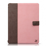 Кожаный чехол для Apple iPad 2\3\4 Zenus Masstige E-note Diary Series (pink)