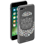 Чехол для Apple iPhone 7 Plus Deppa Gel Art Case New Boho Панда