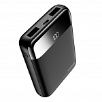 Внешний аккумулятор Rock Space P66 mini dig. display Power Bank 10000 mAh (black)
