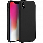 Кожаный чехол для iPhone XS Max Uniq Duffle Vale Genuine leather Black