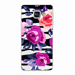 Чехол для Samsung Galaxy A3 (2016) Deppa Art Case Flowers Розы