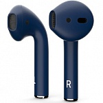 Беспроводные наушники Apple AirPods Custom Colors (matt dark blue)