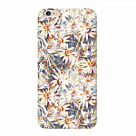 Чехол для Apple iPhone 6/6S Plus Deppa Art Case Flowers Ромашки