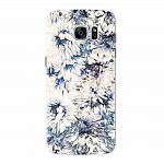 Чехол для Samsung Galaxy S7 edge Deppa Art Case Flowers Хризантемы