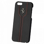 Чехол для iPhone 6 Ferrari Montecarlo Hard (black)