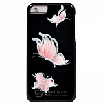 Чехол для iPhone 6 iCover Butterfly Black/Pink