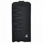 Чехол для iPhone 5/5S BMW Logo Signature Flip Black