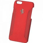 Чехол для iPhone 6 Ferrari F12 Hard (red)