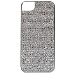 Чехол для iPhone 5 iCover Combi Crystal Silver\Silver
