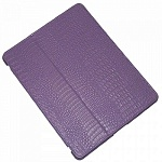 Чехол для Apple iPad2\3\4 IHUG Crocodile purple