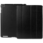 Jison Case Smart Leather Case black кожаный чехол для iPad 2\3\4