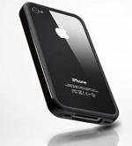 Бампер SGP Case Neo Hybrid EX Series iPhone 4S (черный)