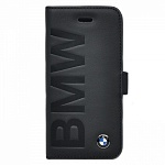 Чехол для iPhone 5/5S BMW Logo Signature Booktype Black