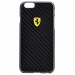 Чехол для iPhone 6 Ferrari Formula One Hard Real Carbon (black)