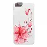 Чехол для iPhone 6 iCover Flower pink