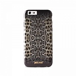 Чехол-накладка для iPhone 6 Puro Just Cavalli Python Leopard