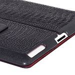 Чехол для Apple iPad2\3\4 Borofone Crocodile pattern black