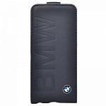 Чехол для iPhone 5/5S BMW Logo Signature Flip Blue
